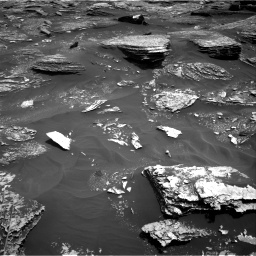 Nasa's Mars rover Curiosity acquired this image using its Right Navigation Camera on Sol 1700, at drive 1336, site number 63