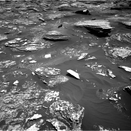 Nasa's Mars rover Curiosity acquired this image using its Right Navigation Camera on Sol 1700, at drive 1342, site number 63