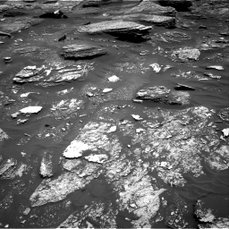 Nasa's Mars rover Curiosity acquired this image using its Right Navigation Camera on Sol 1700, at drive 1384, site number 63
