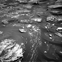 Nasa's Mars rover Curiosity acquired this image using its Right Navigation Camera on Sol 1700, at drive 1402, site number 63