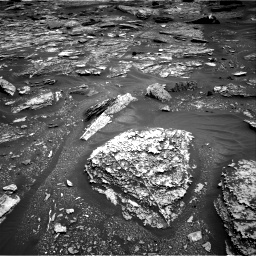 Nasa's Mars rover Curiosity acquired this image using its Right Navigation Camera on Sol 1700, at drive 1414, site number 63