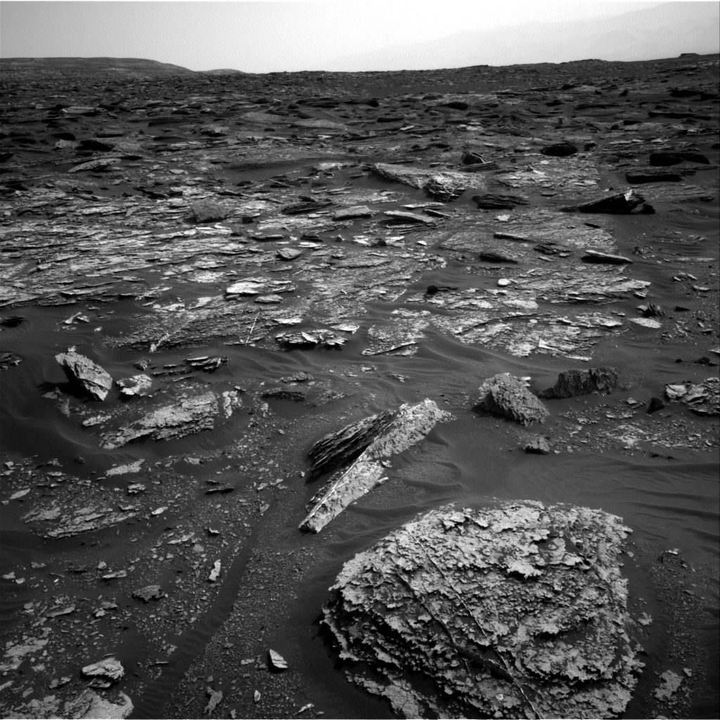 Nasa's Mars rover Curiosity acquired this image using its Right Navigation Camera on Sol 1700, at drive 1420, site number 63
