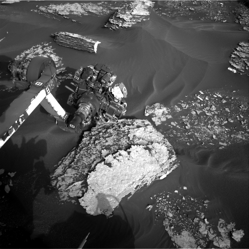 Nasa's Mars rover Curiosity acquired this image using its Right Navigation Camera on Sol 1702, at drive 1420, site number 63