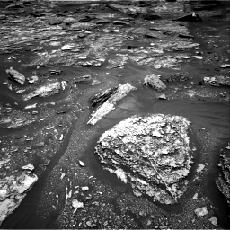 Nasa's Mars rover Curiosity acquired this image using its Right Navigation Camera on Sol 1703, at drive 1420, site number 63