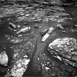 Nasa's Mars rover Curiosity acquired this image using its Right Navigation Camera on Sol 1703, at drive 1426, site number 63