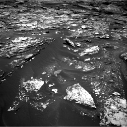 Nasa's Mars rover Curiosity acquired this image using its Right Navigation Camera on Sol 1703, at drive 1438, site number 63