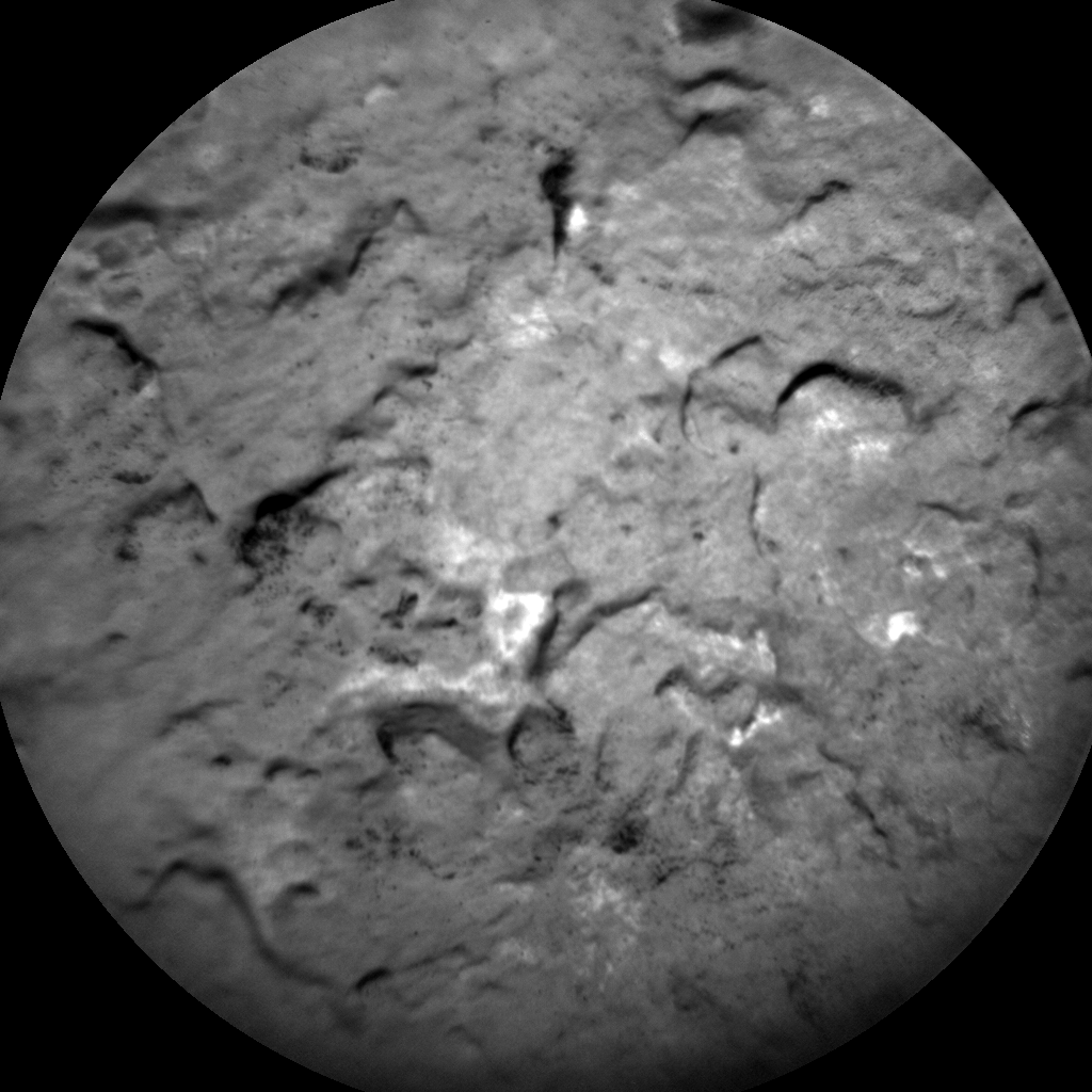 Nasa's Mars rover Curiosity acquired this image using its Chemistry & Camera (ChemCam) on Sol 1703, at drive 1420, site number 63