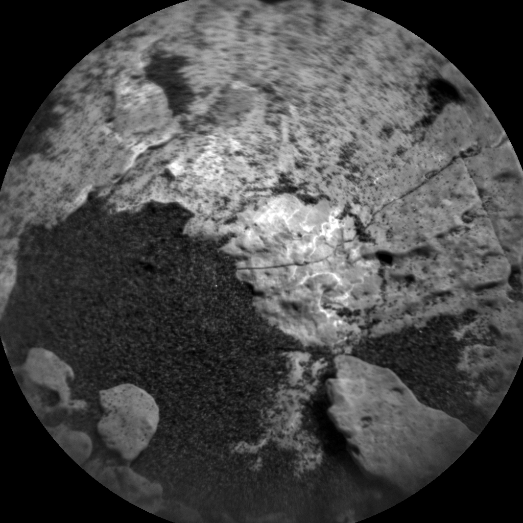 Nasa's Mars rover Curiosity acquired this image using its Chemistry & Camera (ChemCam) on Sol 1703, at drive 1450, site number 63