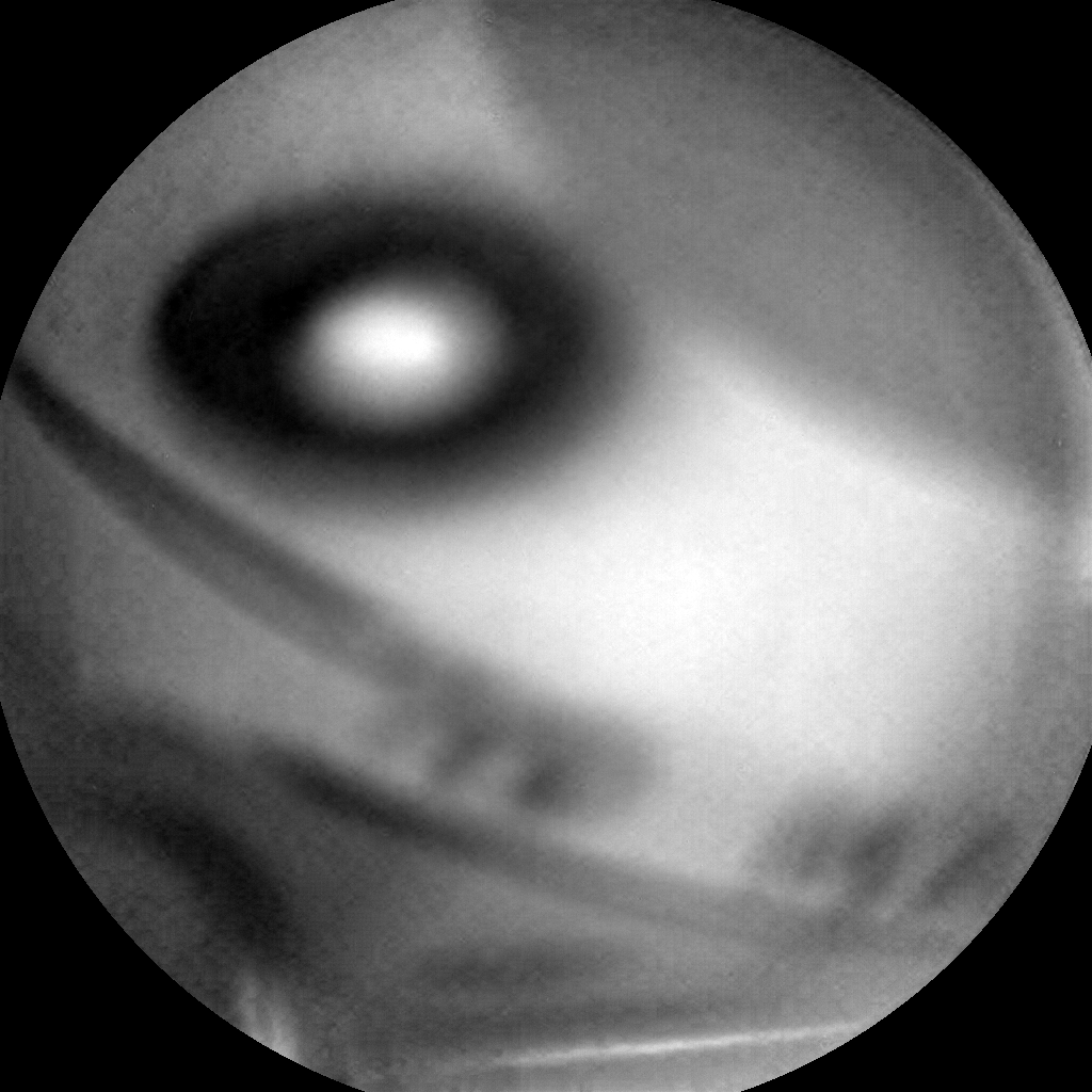Nasa's Mars rover Curiosity acquired this image using its Chemistry & Camera (ChemCam) on Sol 1704, at drive 1450, site number 63