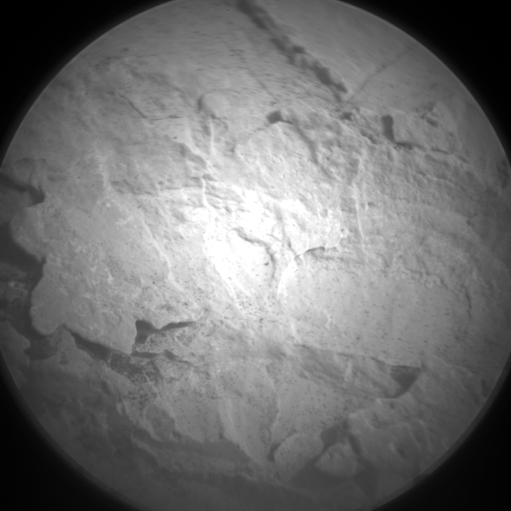 Nasa's Mars rover Curiosity acquired this image using its Chemistry & Camera (ChemCam) on Sol 1705, at drive 1636, site number 63