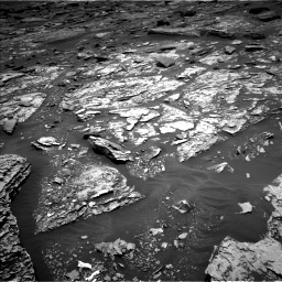 Nasa's Mars rover Curiosity acquired this image using its Left Navigation Camera on Sol 1705, at drive 1558, site number 63