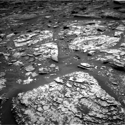 Nasa's Mars rover Curiosity acquired this image using its Left Navigation Camera on Sol 1705, at drive 1582, site number 63