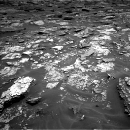 Nasa's Mars rover Curiosity acquired this image using its Left Navigation Camera on Sol 1705, at drive 1594, site number 63