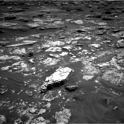 Nasa's Mars rover Curiosity acquired this image using its Left Navigation Camera on Sol 1705, at drive 1600, site number 63
