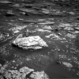 Nasa's Mars rover Curiosity acquired this image using its Left Navigation Camera on Sol 1705, at drive 1618, site number 63