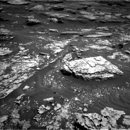 Nasa's Mars rover Curiosity acquired this image using its Left Navigation Camera on Sol 1705, at drive 1624, site number 63