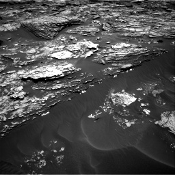 Nasa's Mars rover Curiosity acquired this image using its Right Navigation Camera on Sol 1705, at drive 1474, site number 63