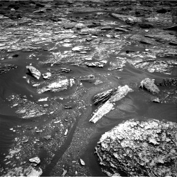 Nasa's Mars rover Curiosity acquired this image using its Right Navigation Camera on Sol 1705, at drive 1492, site number 63