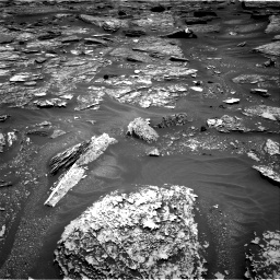 Nasa's Mars rover Curiosity acquired this image using its Right Navigation Camera on Sol 1705, at drive 1498, site number 63
