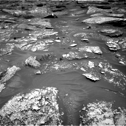 Nasa's Mars rover Curiosity acquired this image using its Right Navigation Camera on Sol 1705, at drive 1504, site number 63