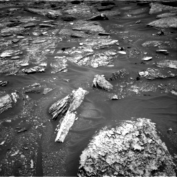 Nasa's Mars rover Curiosity acquired this image using its Right Navigation Camera on Sol 1705, at drive 1516, site number 63