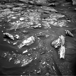 Nasa's Mars rover Curiosity acquired this image using its Right Navigation Camera on Sol 1705, at drive 1522, site number 63