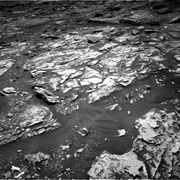 Nasa's Mars rover Curiosity acquired this image using its Right Navigation Camera on Sol 1705, at drive 1558, site number 63