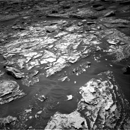 Nasa's Mars rover Curiosity acquired this image using its Right Navigation Camera on Sol 1705, at drive 1564, site number 63