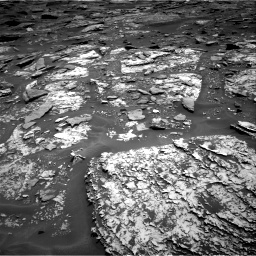 Nasa's Mars rover Curiosity acquired this image using its Right Navigation Camera on Sol 1705, at drive 1588, site number 63