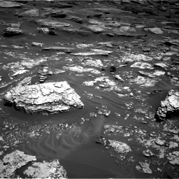 Nasa's Mars rover Curiosity acquired this image using its Right Navigation Camera on Sol 1705, at drive 1618, site number 63