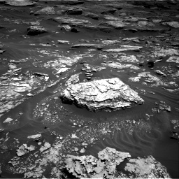 Nasa's Mars rover Curiosity acquired this image using its Right Navigation Camera on Sol 1705, at drive 1624, site number 63