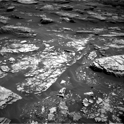 Nasa's Mars rover Curiosity acquired this image using its Right Navigation Camera on Sol 1705, at drive 1630, site number 63
