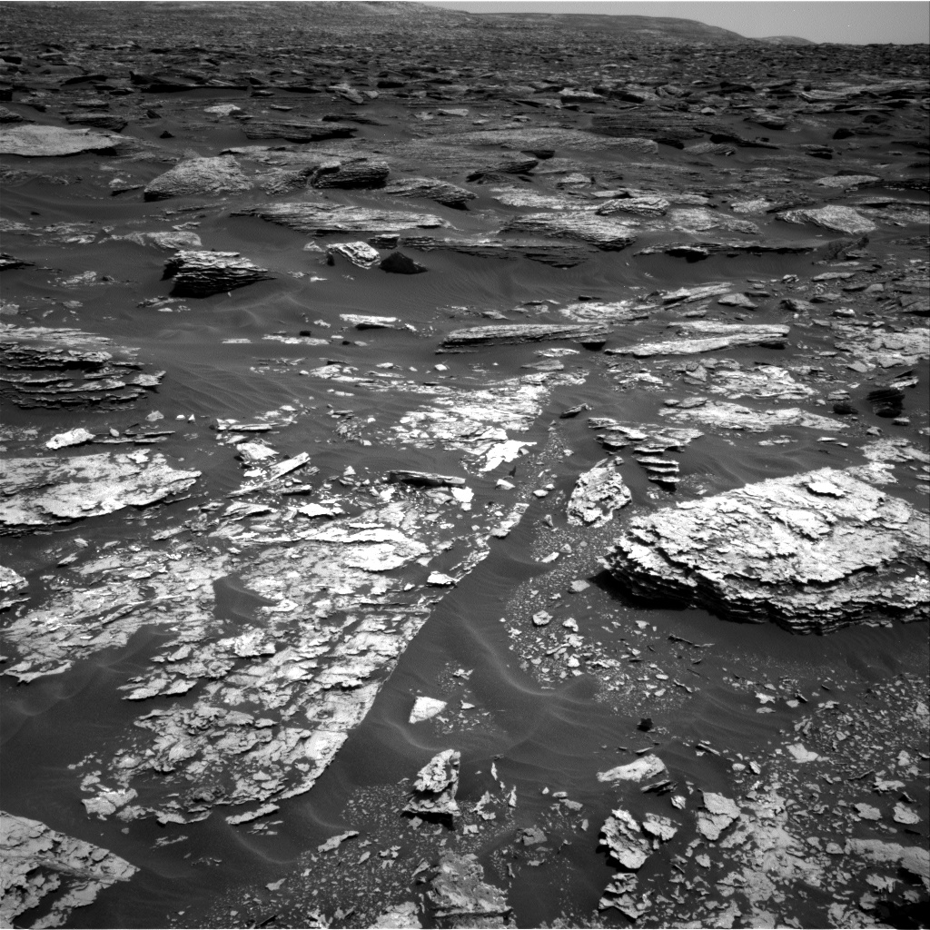 Nasa's Mars rover Curiosity acquired this image using its Right Navigation Camera on Sol 1705, at drive 1636, site number 63