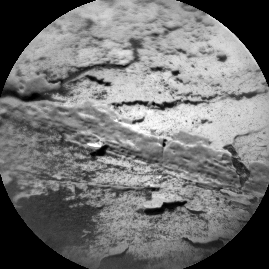 Nasa's Mars rover Curiosity acquired this image using its Chemistry & Camera (ChemCam) on Sol 1705, at drive 1450, site number 63