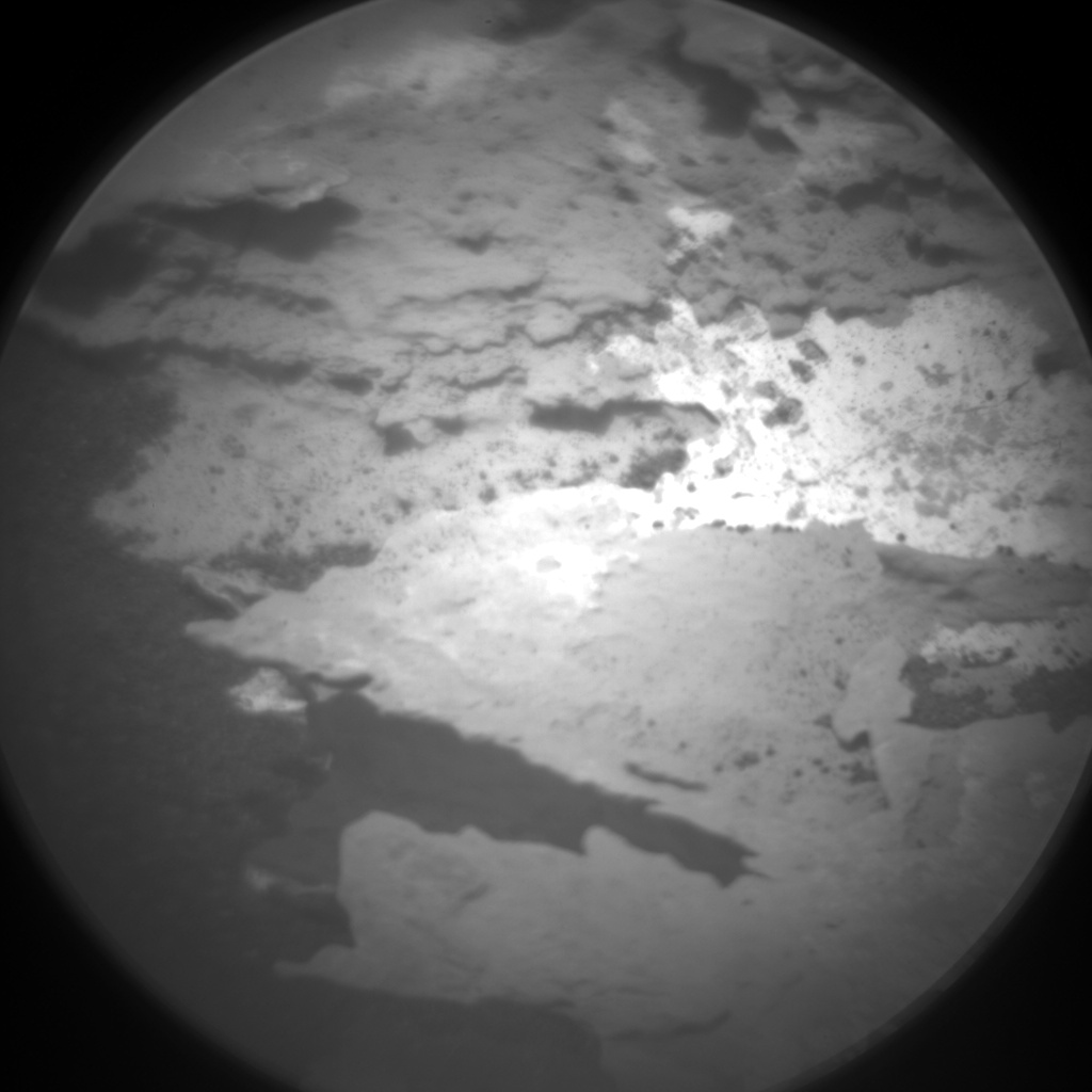 Nasa's Mars rover Curiosity acquired this image using its Chemistry & Camera (ChemCam) on Sol 1707, at drive 1636, site number 63