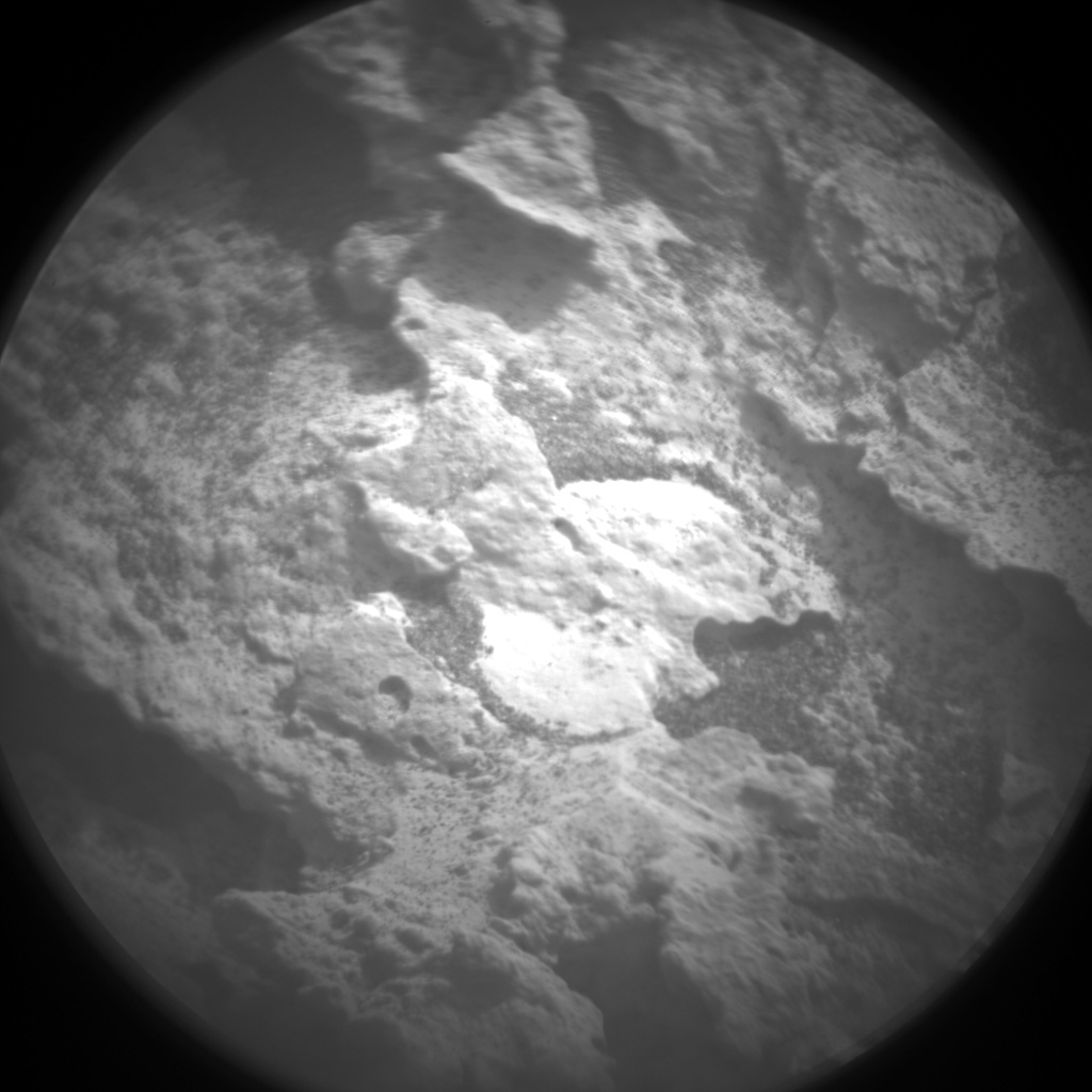 Nasa's Mars rover Curiosity acquired this image using its Chemistry & Camera (ChemCam) on Sol 1707, at drive 1840, site number 63