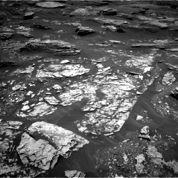 Nasa's Mars rover Curiosity acquired this image using its Left Navigation Camera on Sol 1707, at drive 1636, site number 63