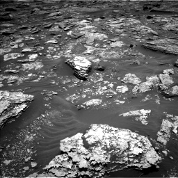 Nasa's Mars rover Curiosity acquired this image using its Left Navigation Camera on Sol 1707, at drive 1660, site number 63