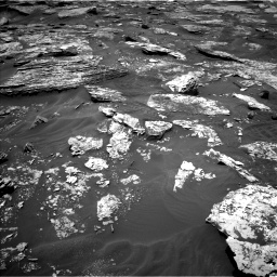 Nasa's Mars rover Curiosity acquired this image using its Left Navigation Camera on Sol 1707, at drive 1708, site number 63