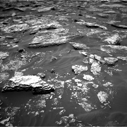 Nasa's Mars rover Curiosity acquired this image using its Left Navigation Camera on Sol 1707, at drive 1714, site number 63
