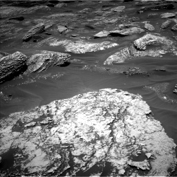 Nasa's Mars rover Curiosity acquired this image using its Left Navigation Camera on Sol 1707, at drive 1810, site number 63