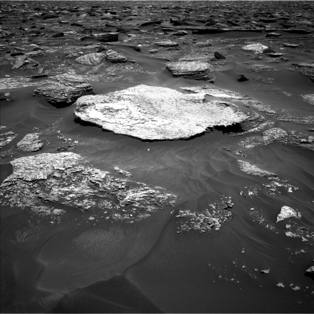 Nasa's Mars rover Curiosity acquired this image using its Left Navigation Camera on Sol 1707, at drive 1840, site number 63