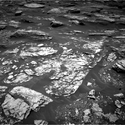 Nasa's Mars rover Curiosity acquired this image using its Right Navigation Camera on Sol 1707, at drive 1642, site number 63
