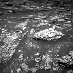 Nasa's Mars rover Curiosity acquired this image using its Right Navigation Camera on Sol 1707, at drive 1648, site number 63