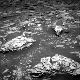 Nasa's Mars rover Curiosity acquired this image using its Right Navigation Camera on Sol 1707, at drive 1654, site number 63