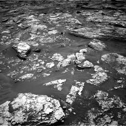 Nasa's Mars rover Curiosity acquired this image using its Right Navigation Camera on Sol 1707, at drive 1666, site number 63