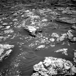 Nasa's Mars rover Curiosity acquired this image using its Right Navigation Camera on Sol 1707, at drive 1672, site number 63
