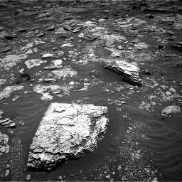 Nasa's Mars rover Curiosity acquired this image using its Right Navigation Camera on Sol 1707, at drive 1678, site number 63