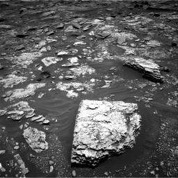 Nasa's Mars rover Curiosity acquired this image using its Right Navigation Camera on Sol 1707, at drive 1684, site number 63