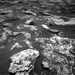 Nasa's Mars rover Curiosity acquired this image using its Right Navigation Camera on Sol 1707, at drive 1702, site number 63